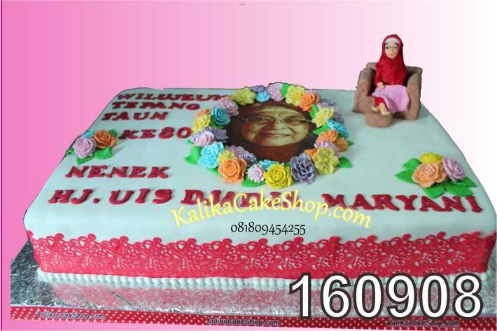 Cake Ulang Tahun Custom HJ.Uis