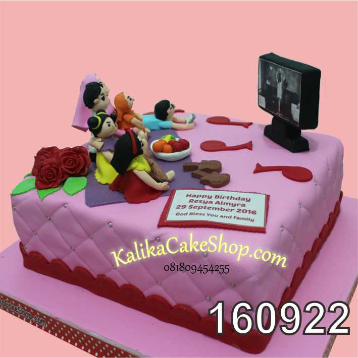 Cake Ulang tahun Custom familly