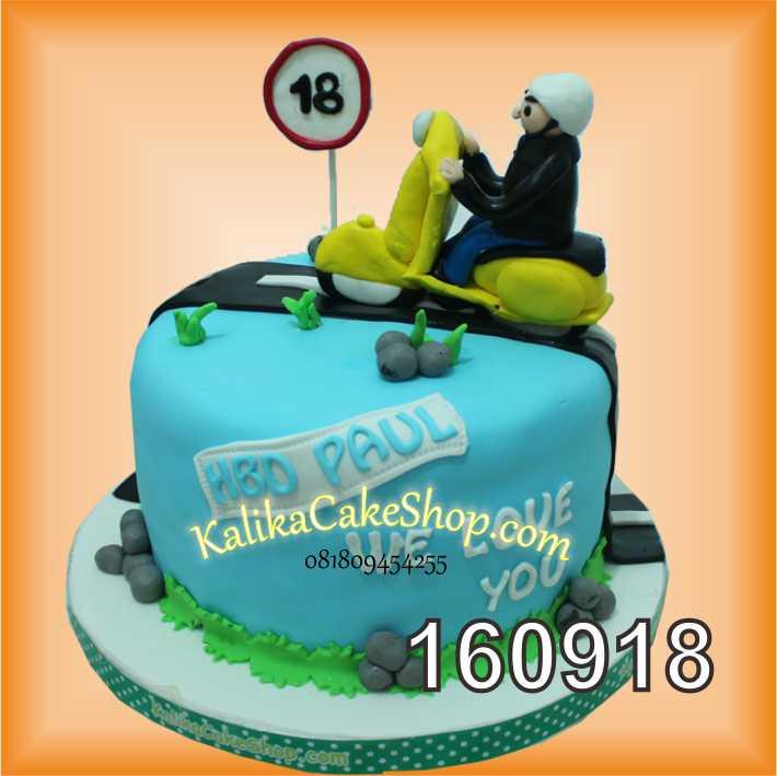 Cake Ulang tahun Custom pesva