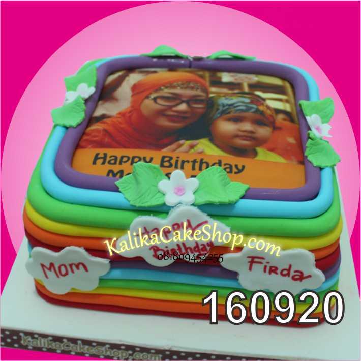 cake Ulang Tahun edible fhoto