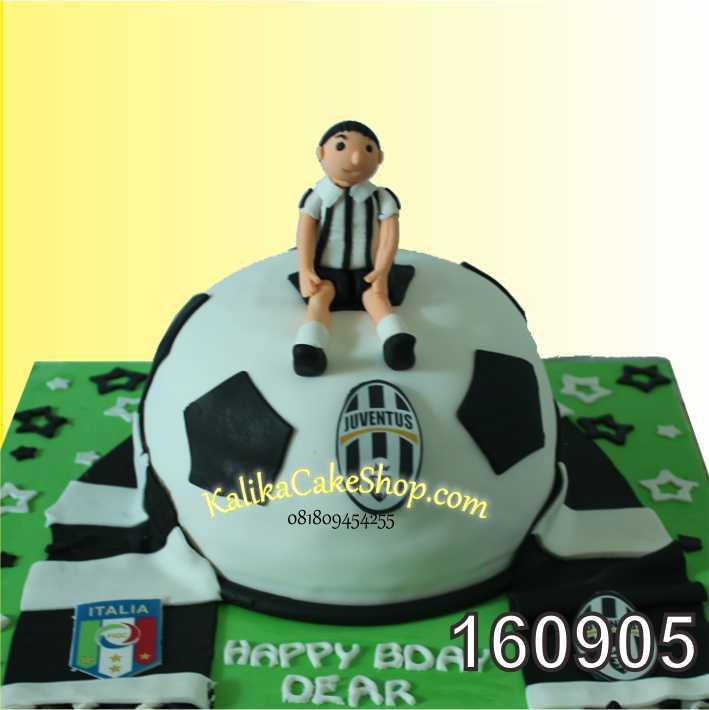 Cake Ulang Tahun juventus Aransha