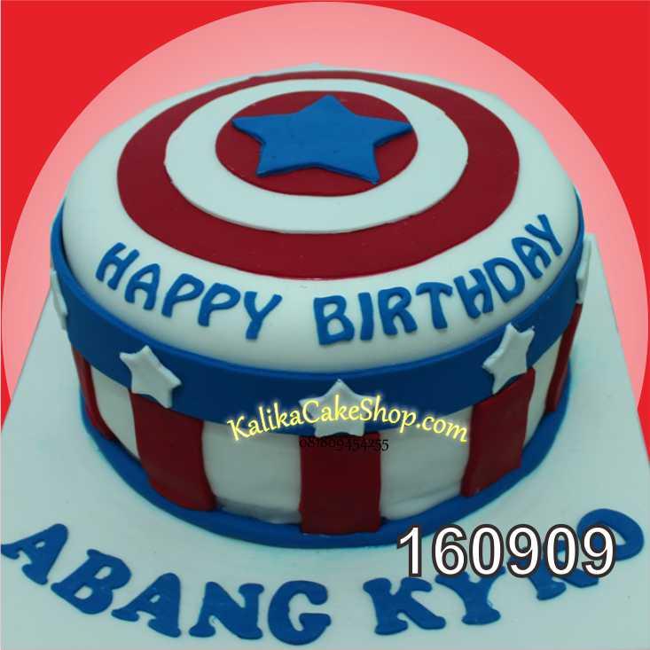 Cake Ulang Tahun Captain America Abang kyko