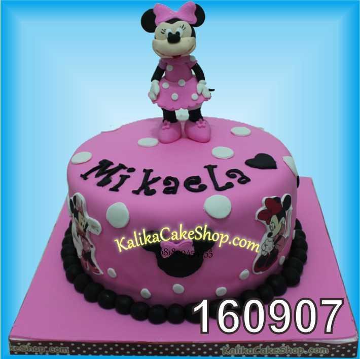 Cake Ulang Tahun Mini Mousse Mikaela