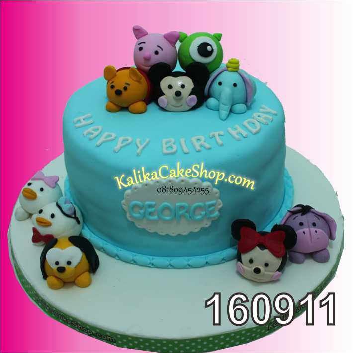 Cake Ulang Tahun Tsum Tsum George
