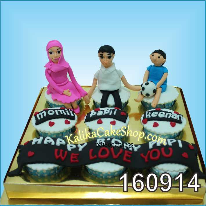 Cup Cake Ulang Tahun family