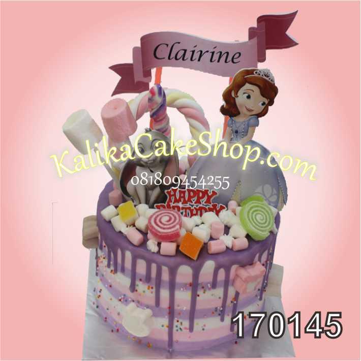 Kue Ulang Tahun Sofia Clairine