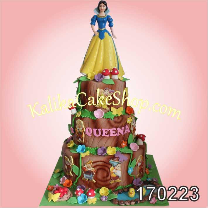 Cake Ulang tahun Snow white