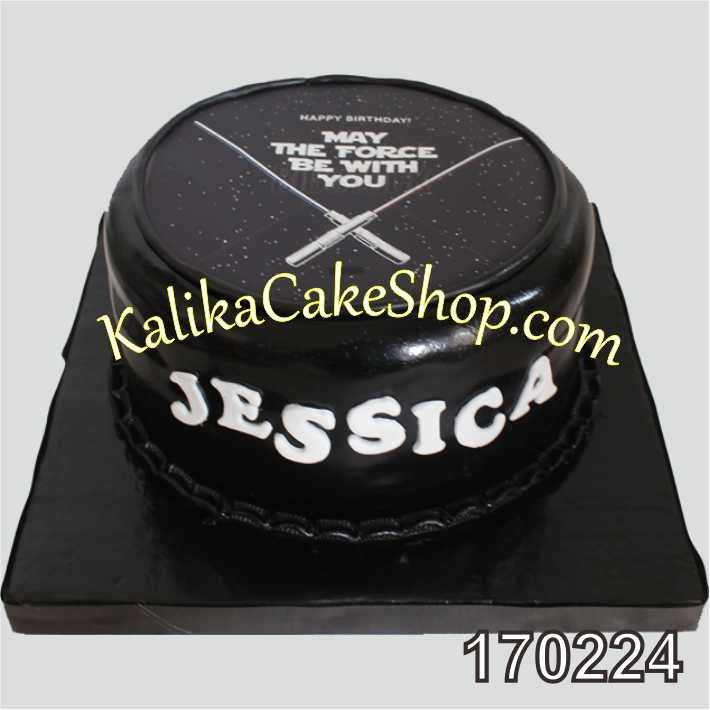 Cake Ulang tahun Star wars Jessica