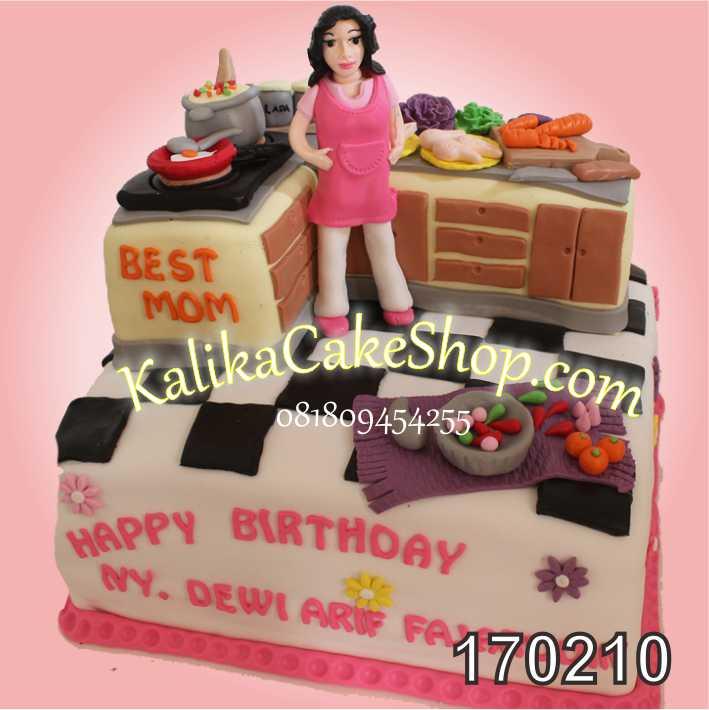 Cake ulang tahun Dapur Ny.Dewi