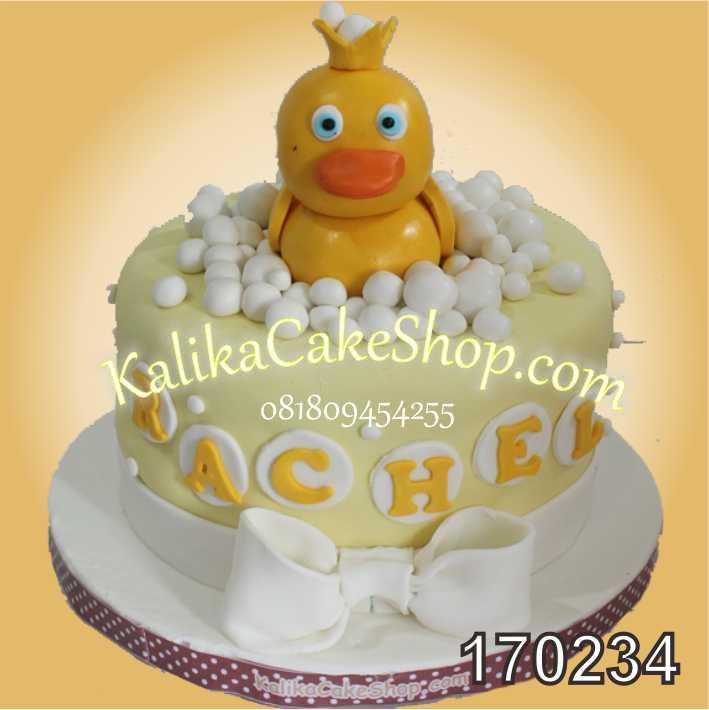 Cake ulang tahun Duck Rachel