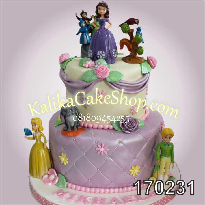 Cake ulang tahun Sofia Mikhaela