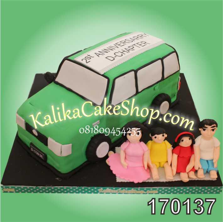 Kue Anniversary Mobil