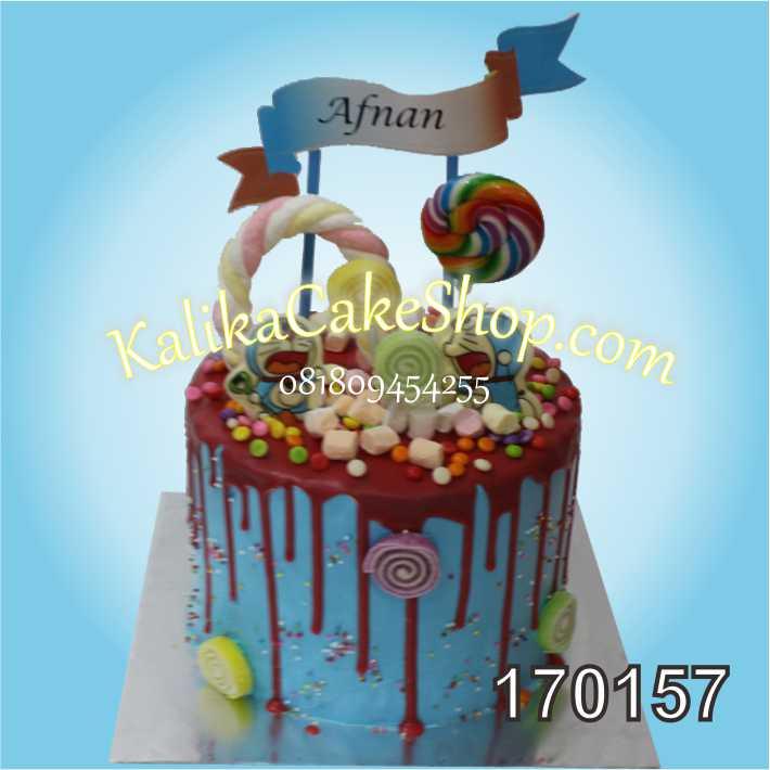 Kue Ulang Tahun Candyland Afnan