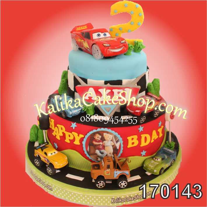 Kue Ulang Tahun Cars Axel