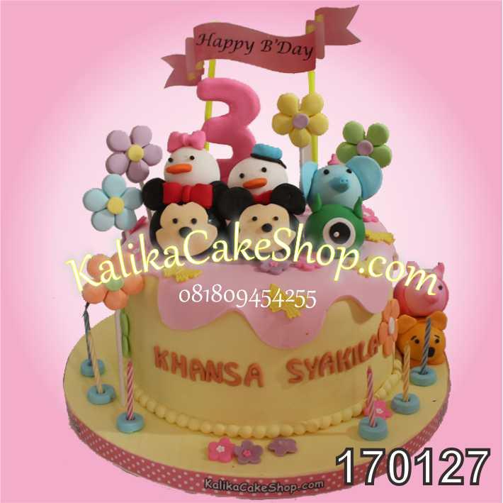 Kue Ulang Tahun Disney Khansa