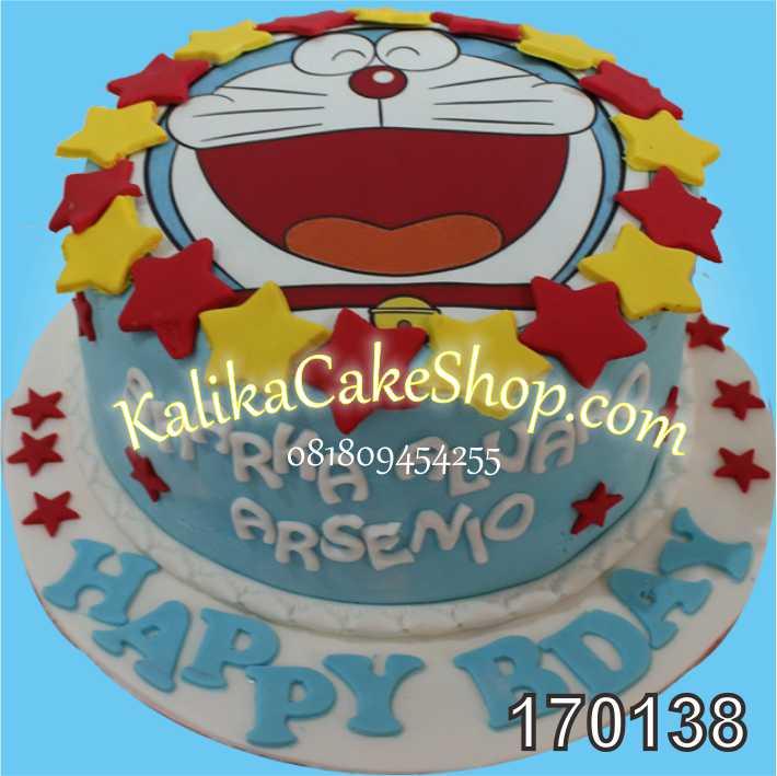 Kue Ulang Tahun Doraemon Arsenio