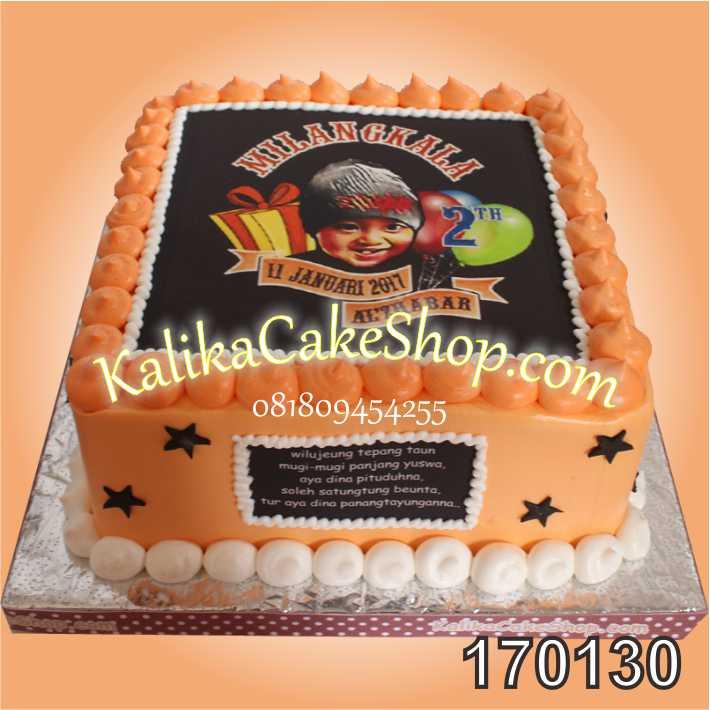 Kue Ulang Tahun Edible Photo Al Zhabar