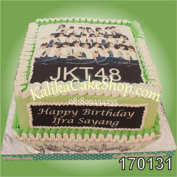 Kue Ulang Tahun Edible Photo JKT48
