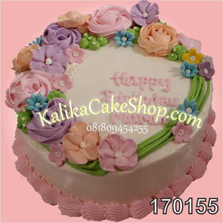 Kue Ulang Tahun Flower Mama