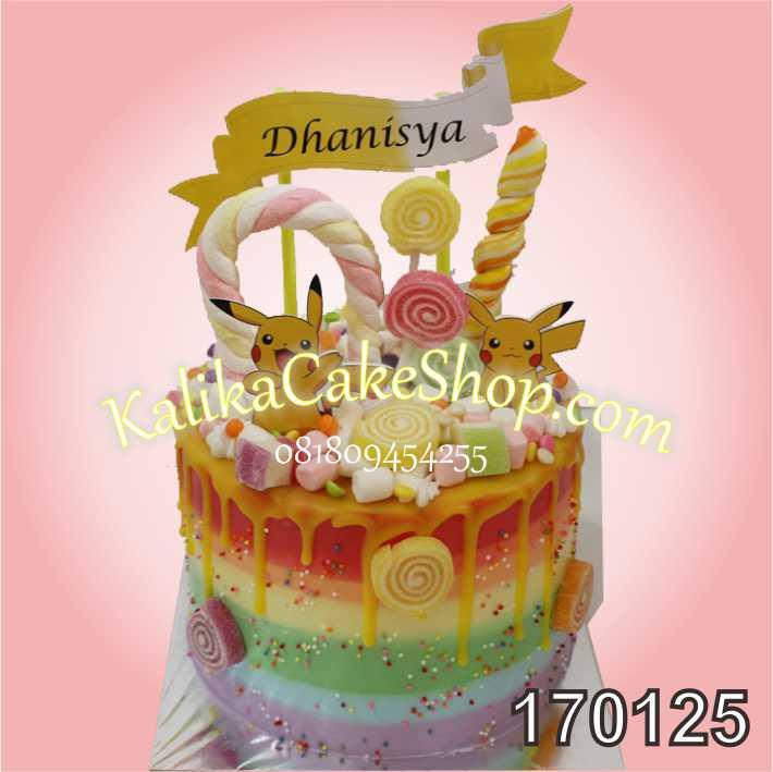 Kue Ulang Tahun Hello Kitty Nayla