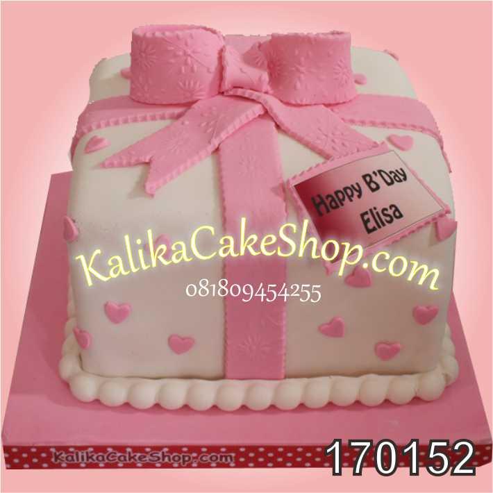 Kue Ulang Tahun Kado Elisa