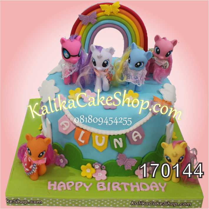 Kue Ulang Tahun Little Pony Aluna