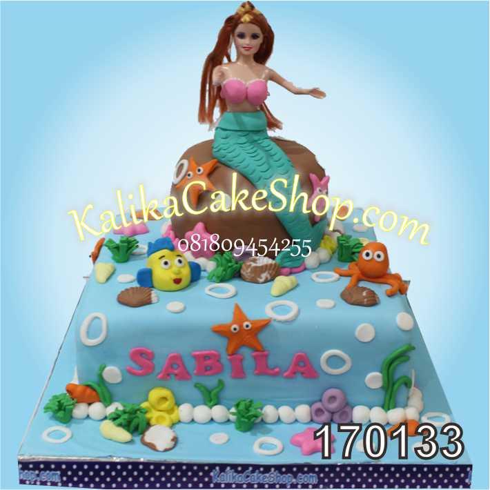 Kue Ulang Tahun Mermaid Sabila