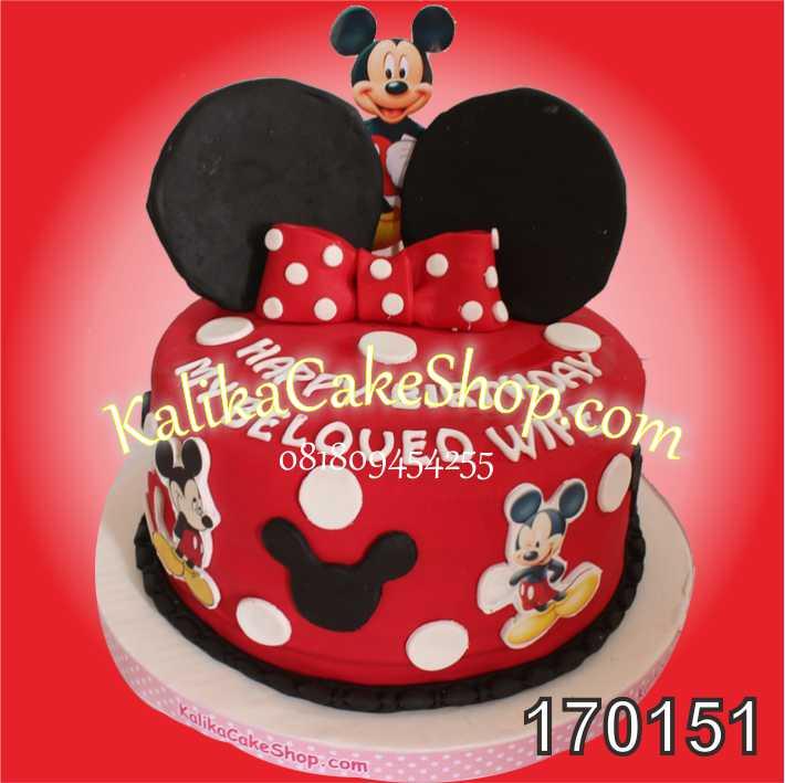 Kue Ulang Tahun Minnie Mouse Wife