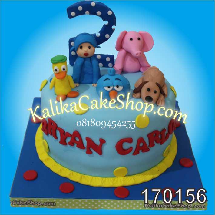 Kue Ulang Tahun Pocoyo Bryan
