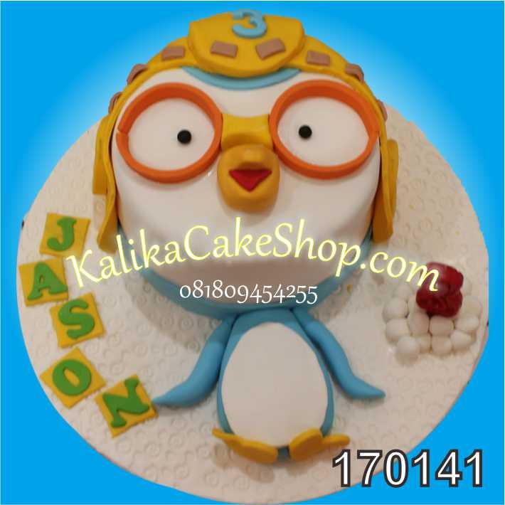 Kue Ulang Tahun Pororo Jason