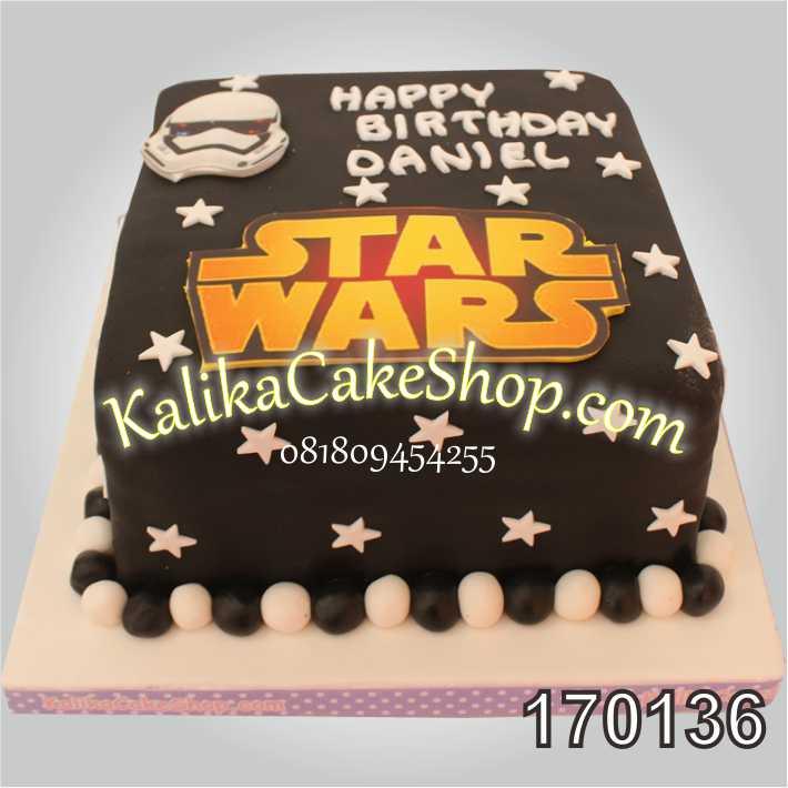 Kue Ulang Tahun Star Wars Daniel