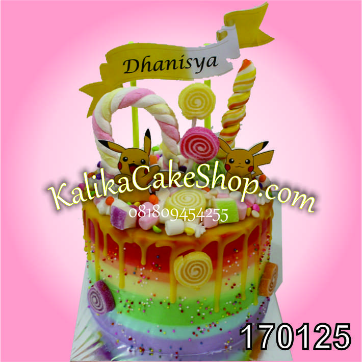 Kue Ulang Tahun Tinker Bell Danisya