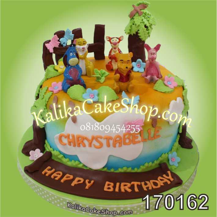 Kue Ulang Tahun Winnie The Pooh Chrystabelle