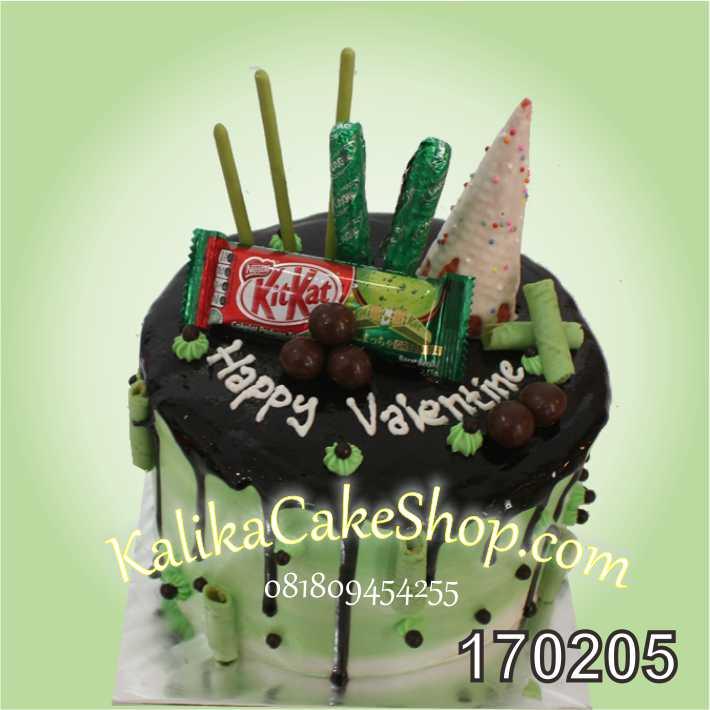cake Drips Green tea