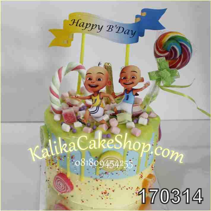 Cake Ulang Tahun Candyland Upin Ipin Kue Ulang Tahun Bandung