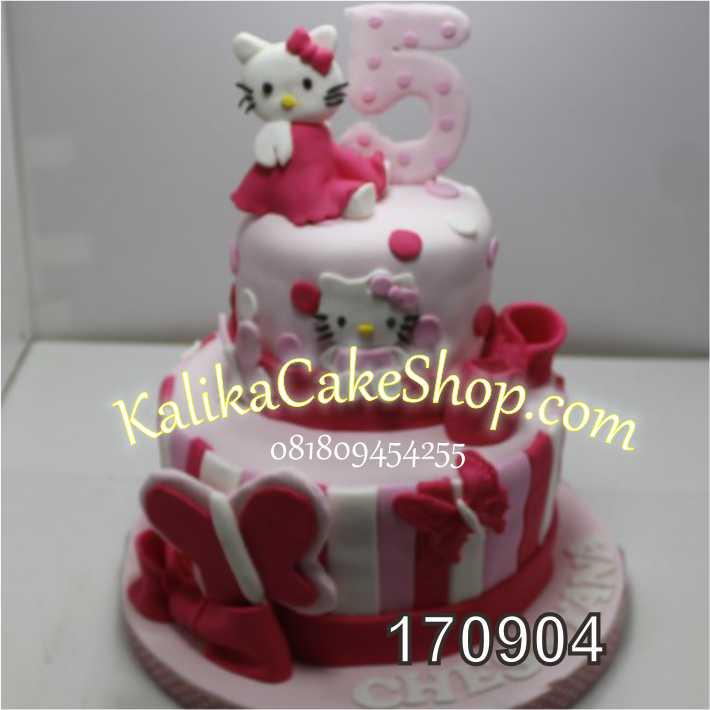 04 Kue Ultah Hello Kitty 2 Susun Kue Ulang Tahun Bandung