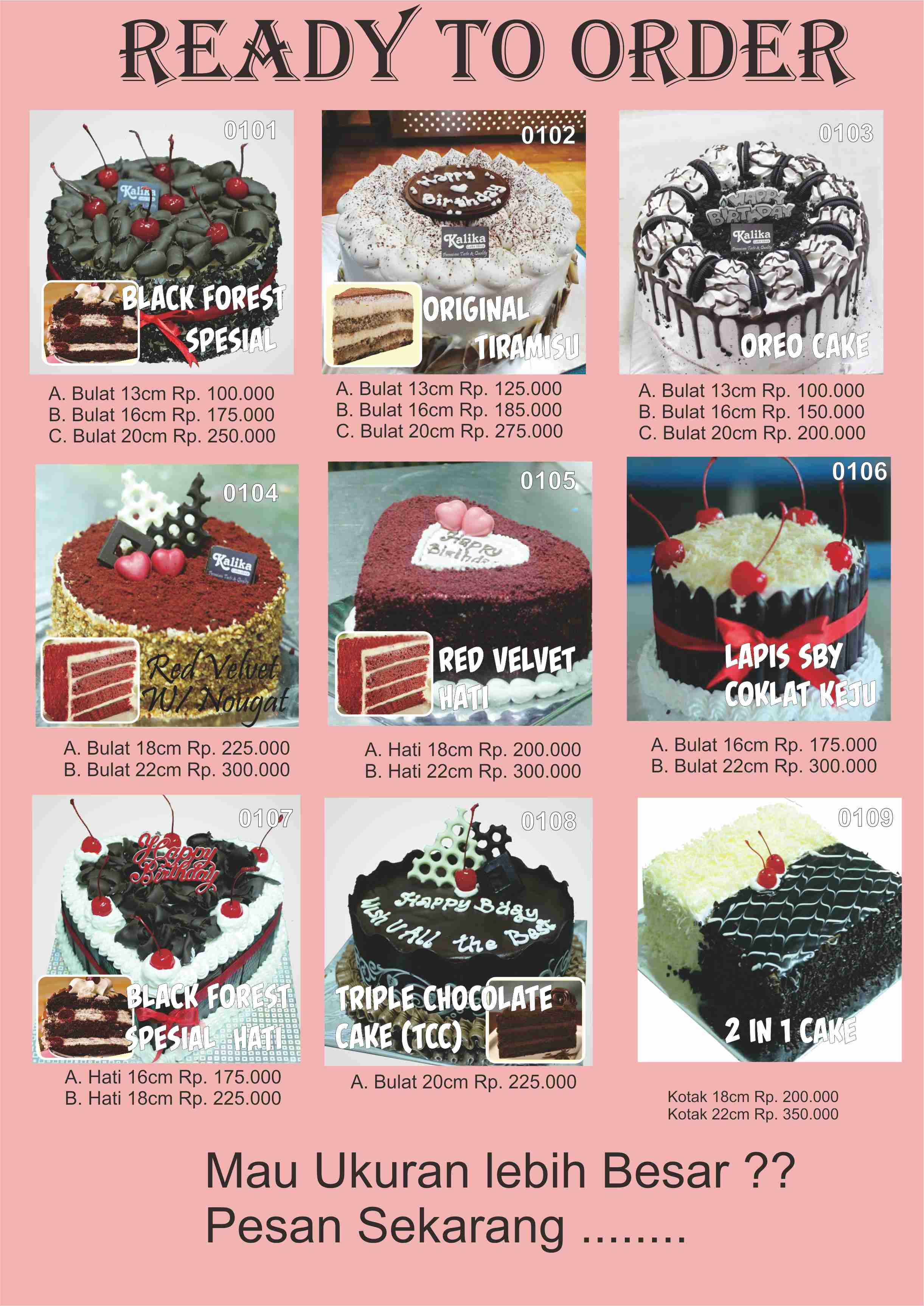 Kue Ulang Tahun Bandung | Toko Kue Ulang Tahun Bandung | Kue Ulang Tahun